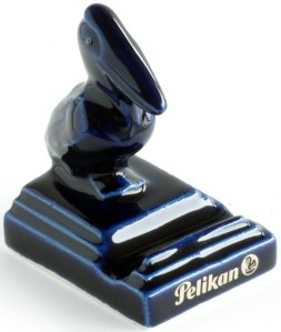 Pelikan Blue Pen Stand