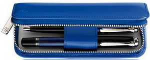 Pelikan TG184 Blue Leather Pen Case