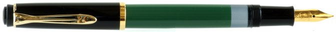 Pelikan M150 Green-Black Post-'97 Posted
