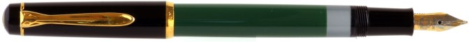 Pelikan M150 Green-Black Pre-'97 Posted