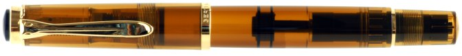 Pelikan M200 Cognac Demonstrator (2014) Post-'97 Capped