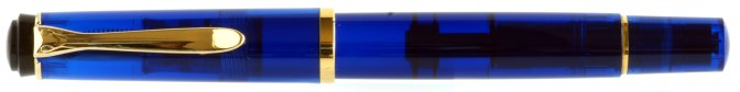 Pelikan M200 Blue Demonstrator Post-'97 Capped