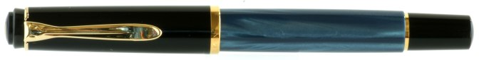 Pelikan M200 Blue Marbled Post-'97 Capped