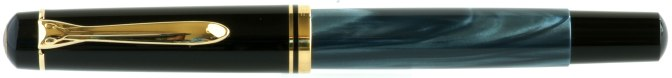 Pelikan M200 Blue Marbled Pre-'97 Capped