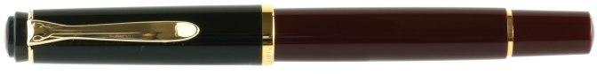 Pelikan M200 Burgundy-Black Post-'97 Capped