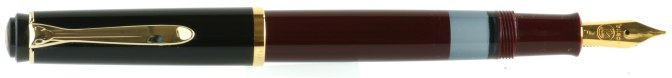 Pelikan M200 Burgundy-Black Post-'97 Posted