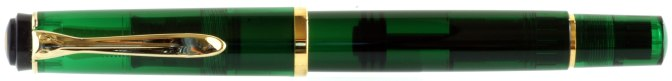 Pelikan M200 Green Demonstrator Post-'97 Capped