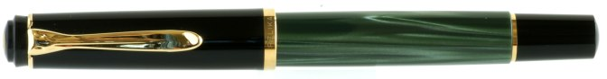 Pelikan M200 Green Marbled Post-'97 Capped