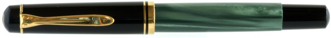 Pelikan M200 Green Marbled Pre-'97 Capped