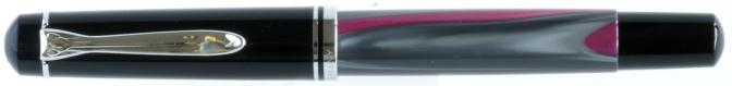 Pelikan M200 Grey/Magenta Karstadt Excess Pre-'97 Capped