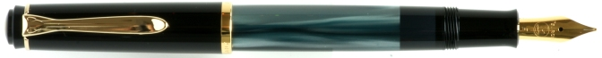 Pelikan M200 Green Marbled Posted