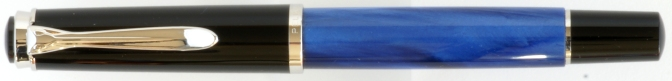 Pelikan M205 Blue Marbled Post-'97 Capped