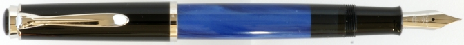 Pelikan M205 Blue Marbled Post-'97 Posted