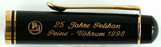 Pelikan R200 25 Year Anniversary Cap Engraving