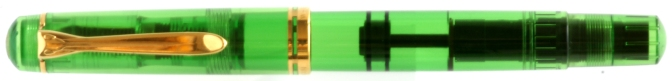 Pelikan M250 Green Demonstrator Pre-'97 Capped