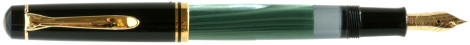 Pelikan M250 Green Marbled Posted
