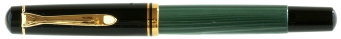 Pelikan M250 Green Marbled Capped