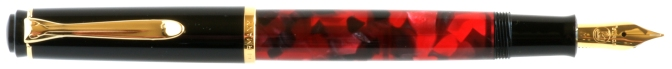 Pelikan M201 Mars Red Posted