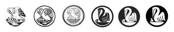 History of Pelikan's logos