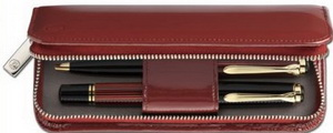 Pelikan TG180 Red Leather Pen Case