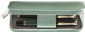 Pelikan TG181 Green Leather Pen Case
