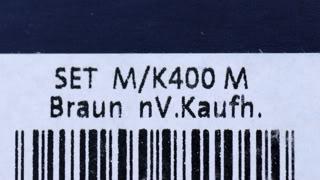 Pelikan M400 Tortoiseshell Brown Packaging GK Type II