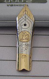 M600 Nib with PF Hallmark