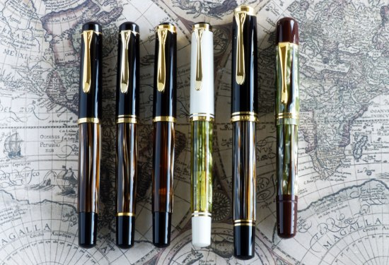 Pelikan M200, M250, M400 ('90-96), M400 White, M800 ('13), M101N Brown