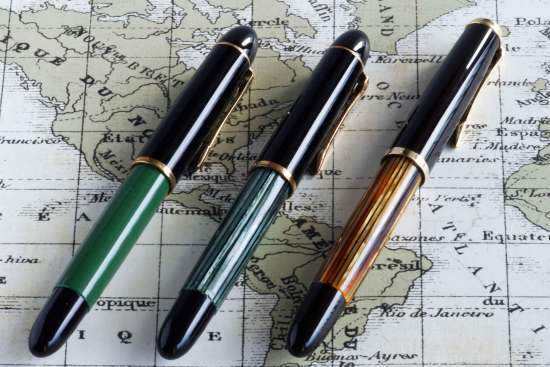 Pelikan 120, 140, and 400NN