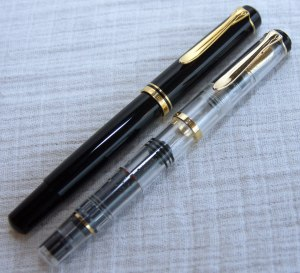 Old & New Style Pelikan M250's