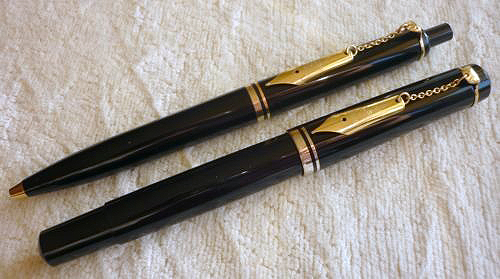 Pelikan M200 & K200 Black Nib-on-a-Chain Editions