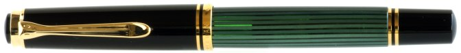 Pelikan M600 Green Striated New Style Capped