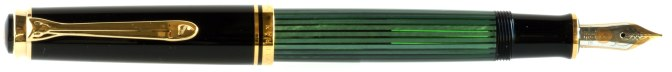 Pelikan M600 Green Striated New Style Posted