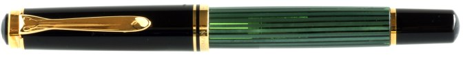Pelikan M600 Green Striated Old Style Capped