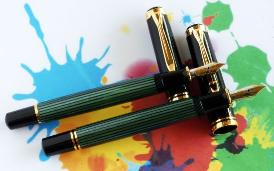 Old & New Style Pelikan M600's