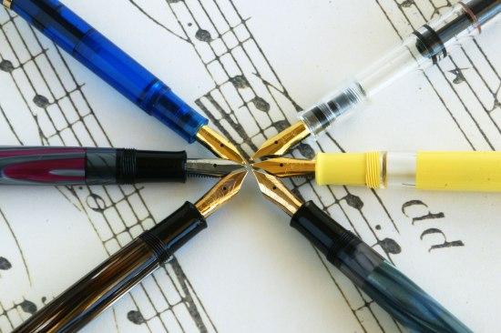 Pelikan special edition pens