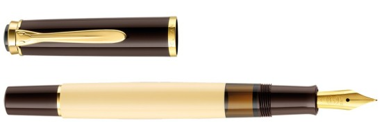 Pelikan M200 Cafe Creme Pen and Cap