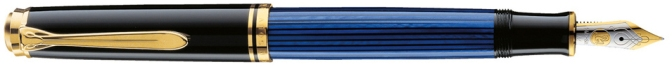 Pelikan M600 Blue Striated