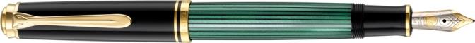 Pelikan M600 Green Striated