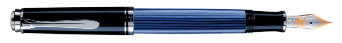 Pelikan M605 Blue Striated