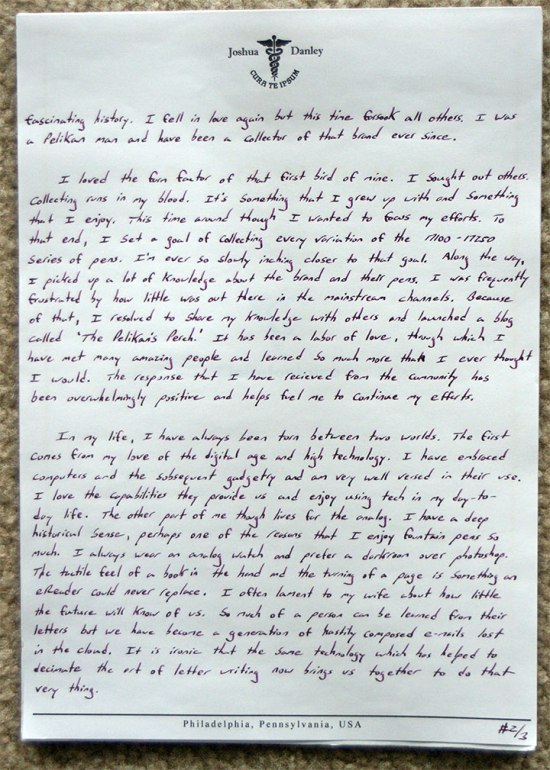 Wander box Letter, Page #2