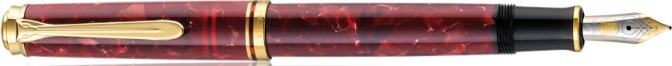 Pelikan M320 Ruby Red Posted