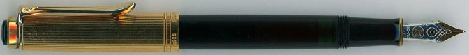 Pelikan M350 Black Posted