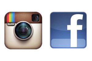 Instagram and Facebook Logos