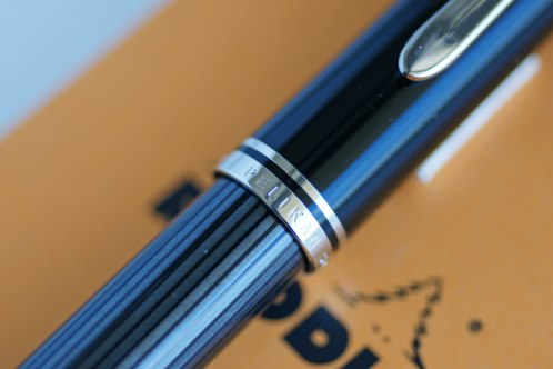 Pelikan M805 Anthracite Stresemann Cap Band & Barrel