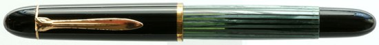 Pelikan green striped 140