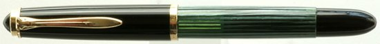 Pelikan green striped 400NN