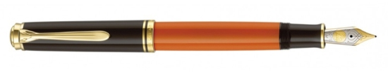 M800 Burnt Orange Fountain Pen