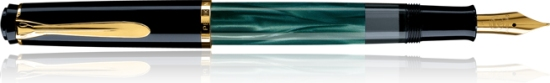 Pelikan M200 Green Marbled Fountain Pen