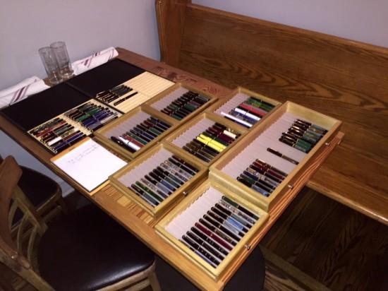 Pelikan fountain pen collection